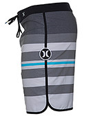 Phantom 60 Block Party Warped Boardshorts-Black