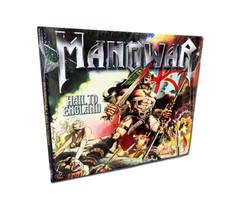 CD Digipak Hail To England Silver Edition