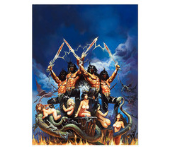 Giclee Print Gods Of War