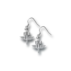 Stainless Steel Earring - Sign Of The Hammer (+ Gift Box)