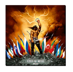 Giclee Print Kings Of Metal MMXIV - Flags