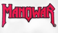 "MANOWAR Logo Patch 3"""