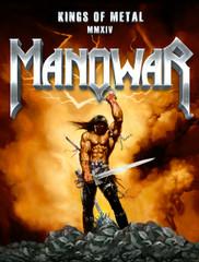 """Flag Kings of Metal MMXIV - Warrior (30"""" x 40"""" - 76cm x 100cm)"""