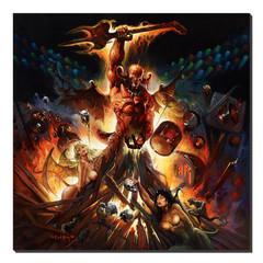 Giclee Print Hell on Stage