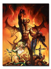 Giclee Print Hell on Earth V