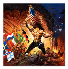Giclee Print Warriors of the World - Front