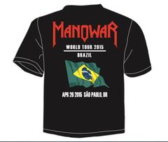 T-Shirt Kings Of Metal 2015 Tour/ Brazil