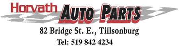 Horvath Auto Parts-Auto Parts Tillsonburg