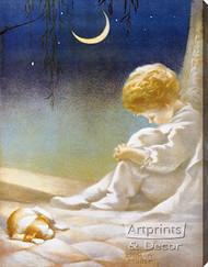 Slumberland by Annie Benson Müller - Stretched Canvas Art Print