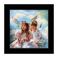 Heavenly Whispers - Framed Art Print