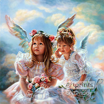 Heavenly Whispers by Sandra Kuck - Art Print