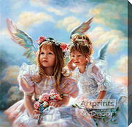 Heavenly Whispers by Sandra Kuck - Stretched Canvas Art Print