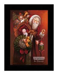 Christmas Past - Framed Art Print*