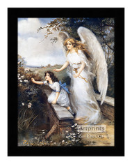 Guardian Angel of the Bridge II - Framed Art Print