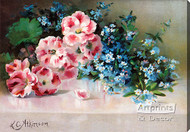 Spring Accents by L.C. Atkinson - Stretched Canvas Art Print