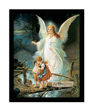 Guardian Angel - Framed Art Print