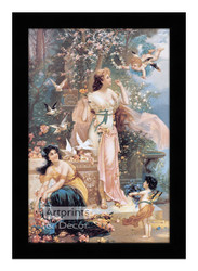 The Gathering - Framed Art Print