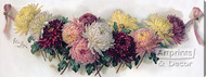 Bouquet of Chrysanthemums by Paul de Longpre - Stretched Canvas Art Print
