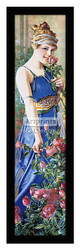 *Lady in Blue - Framed Art Print
