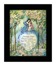 Mother Dear - Framed Art Print
