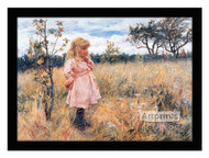 Picking Apples - Framed Art Print
