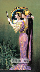 Reflections by Charles Allan Gilbert - Art Print