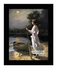 Moon Beams - Framed Art Print