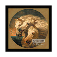 Pharaoh's Horses - Framed Art Print