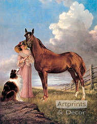 Beautiful Friends by Carl Kuhler - Art Print