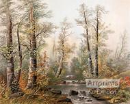 Fall Splendor by William Henry Chandler - Art Print