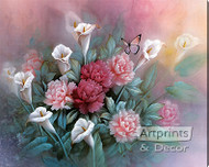Carnations by T.C. Chiu - Stretched Canvas Art Print
