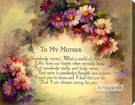 To My Mother - Stretched Canvas Art Print