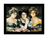 At the Opera - Framed Art Print