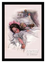 Asleep - Framed Art Print