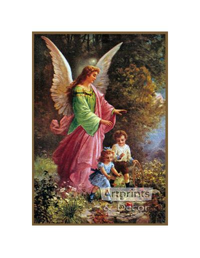 Guardian Angel - Art Print