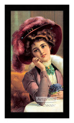 Yvette - Framed Art Print