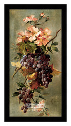 Vineyard Floral - Framed Art Print