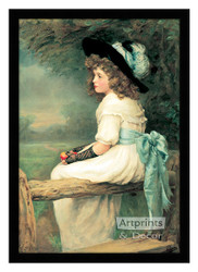 A Daughter of Eve - Framed Art Print