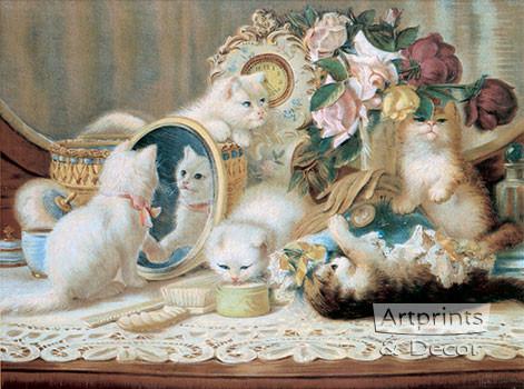 The Five Senses by H.G. Plumb - Framed Art Print