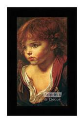 Ragazzo Biondo - Framed Art Print
