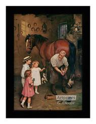 Won't You Fix My Horse Too - Framed Art Print