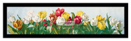 A Shower of Tulips - Framed Art Print