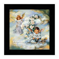 Heavenly Hideaway - Framed Art Print
