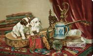 Home Fancies by C.L. Van Vredenburgh - Stretched Canvas Art Print