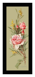 Roses & Wildflowers - Framed Art Print*