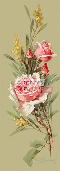 Roses & Wildflowers by Catherine Klein - Art Print