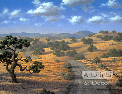 Country Road by Robert Richert - Art Print