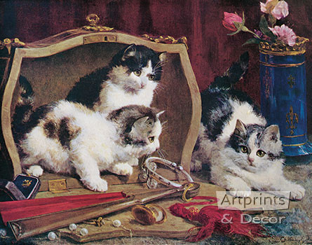 Costly Toys by Charles H. Van den Eycken - Art Print