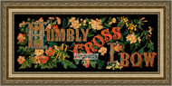 Humbly at the Cross I Bow - Framed Art Print
