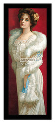 Elegance In Fur - Framed Art Print